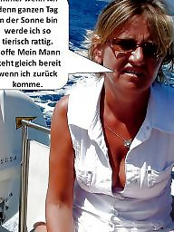 German milf, Milf captions, German caption, Captions, German captions, German