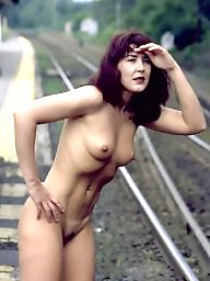 Voyeur naked, Railway, Naked voyeur, Naked in public, Naked amateur public, Nake in public