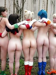 Group, Asses, Ass, Groups, Naked, Group ass
