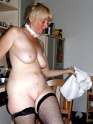 Mature stockings, Niece
