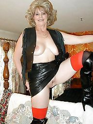 Mature, Stockings, Mature amateur