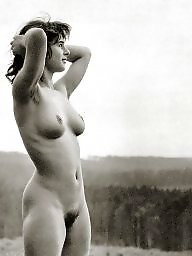 Vintage amateur, Naturists, Vintage, Hairy girls