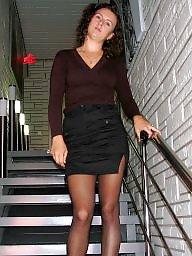 Stockings upskirt, Upskirt stockings, Upskirt, Leggings, Leg
