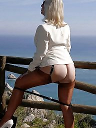Mature panties, Sandy, Sheer, Panty, Mature blonde, Sheer panties