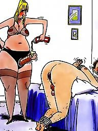 Femdom cartoon, Sex cartoon, Strapon cartoon, Anal toys, Anal cartoon, Toon