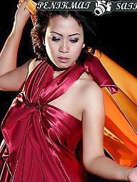 Red satin, Red dresses, Red dress, Satin dresses, Satin dressed, Satin asian