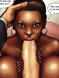 Interracial cartoon, Comics, Comic, Interracial cartoons