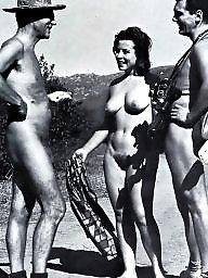 Vintage amateur, Naked, Naked group