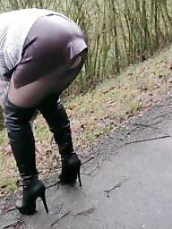 Amateur boots, Amateur stockings, Boots