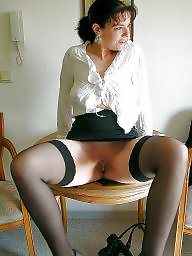 Nylon mature, Wide, Nylons, Mature stocking, Nylon