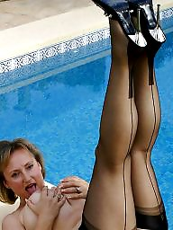 Nylon mature, Mature nylons, Mature stocking, Mature stockings, Nylons, Nylon
