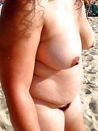 Bbw beach, Bbw hairy, Beach, Nude beach, Hairy beach, Wife beach