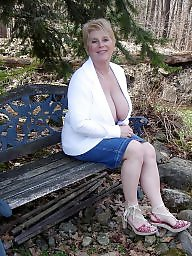 Mature cleavage, Granny tits, Mature amateur, Mature tits, Granny, Cleavage