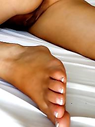 Wife,s feet, Wife spreading, Wife spread, Wife s feet, Wife mature pussy, Wife flashing