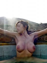 Wifes public, Wifes naked, Wife spa, Wife public, Wife outdoors, Wife flashing