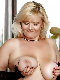 Fat mature, Mother, Busty mature