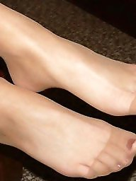 Aunt, My aunt, Nylonfeet, Stocking milf