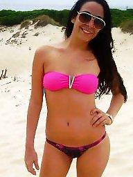 Amateur bikini, Bikini, Beach
