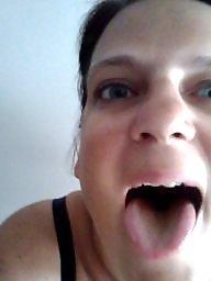 Bbw slave, Bbw facial, Mouthful, Mouth