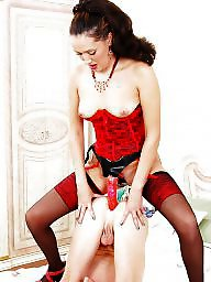 Red,milf, Red stockings, Red stocking, Red in stocking, Red hot, Red fucking