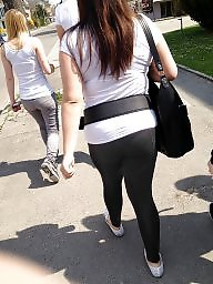 Teen ass, Ass, Teens, Leggings, Candid, Street