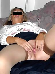 Blond mature, Mature blonde, Housewife