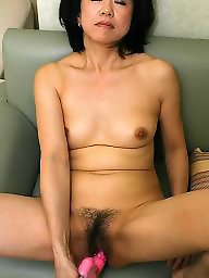 Mature asian, Moms, Spreading