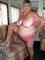 Grannies, Granny bbw, Bbw granny, Lingerie, Granny boobs, Grannys