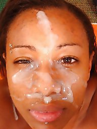 Ebony, Black, Facial