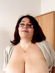 Mature big tits, Huge tits