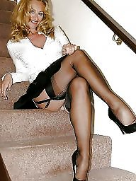 Stocking milf, Mature stockings, Mature stocking