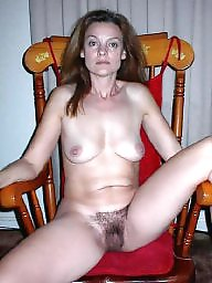 Hairy natyral milf