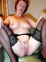 Lady, Mature stocking