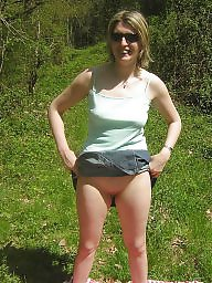 French, Forest, Nude in public, Nude amateur