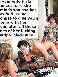 Captions, Cuckold captions, Sissy, Cuckold, Femdom caption, Sissy captions