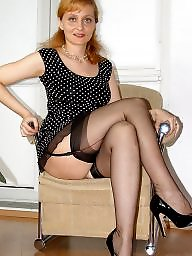 Mature stocking, Mature stockings, Beautiful mature