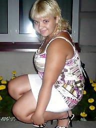 Bbw upskirt, Thighs