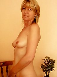 Stripping, Stripped, Blond mature, Show, Milf pussy, Mature ass
