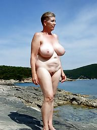 Mature beach, Granny boobs, Granny, Granny beach