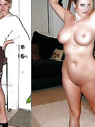 Mature dressed undressed, Mature dress, Undressed