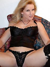 Mature stockings, Mom