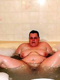 Bathing, Bbw milf
