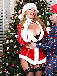 Xmas milf, Xmas, Pornstar milf, Pornstar big boobs, Pornstar boobsà, Pornstar boobs