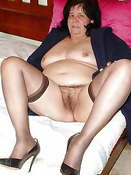 Stockings hairy, Mature stockings, Mature hairy
