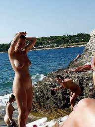 German, Vacation, Public nudity, Public, Beach, Nudity