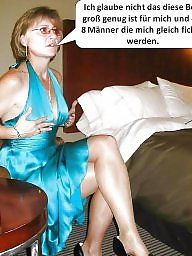 German, Caption, German captions, Milf captions, German milf, German caption