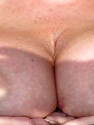 Big nipples, Mature boobs, My wife, Old tits
