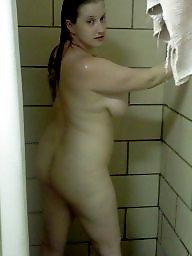 Shower, Bbw shower, Public bbw