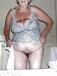 Grandma, Fat tits, Fat, Mature boobs, Fat mature
