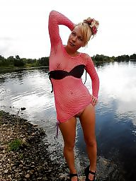 Pink stocking, Pink fishnets, Pinkness, Stockings hot, Stockings flashing, Stockings fishnets